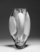 Opal Kernel by James Friedberg (Art Glass Vase)