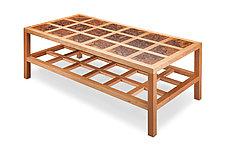 Carré Coffee Table by Robert Krantz (Wood Coffee Table)