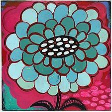 Plentiful Petals Bloomer by Barbara Gilhooly (Acrylic Painting)