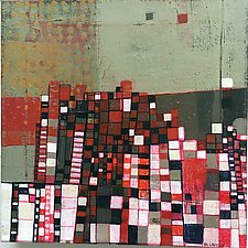 Urban Grid by Barbara Gilhooly (Acrylic Painting)