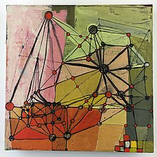 Plexus by Barbara Gilhooly (Acrylic Painting)