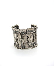 Silver Patchwork Cuff by Lauren Passenti (Silver Bracelet)