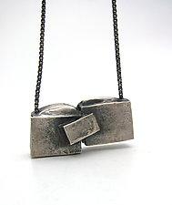 Collision Study Pendant by Lauren Passenti (Silver Necklace)