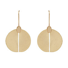 Shield Earrings by Julie Cohn (Bronze Earrings)