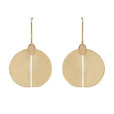 Shield Earrings by Julie Cohn (Bronze Earrings)