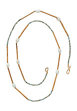 Robin's Egg Necklace by Julie Cohn (Jewelry Necklaces)