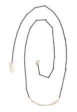 Wave Necklace by Julie Cohn (Silver & Bronze Necklace)