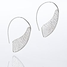 Jib Hoop Earrings by Nora Fischer (Silver Earrings)
