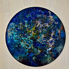 New Star #2 by Cynthia Miller (Art Glass Wall Sculpture)
