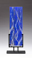 Downstream by Denise Bohart Brown (Art Glass Sculpture)