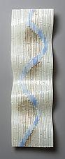 Spring Thaw by Denise Bohart Brown (Art Glass Wall Sculpture)