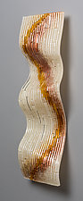 Fall Colors by Denise Bohart Brown (Art Glass Wall Sculpture)