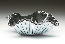 Poppy Bowl by Denise Bohart Brown (Art Glass Bowl)