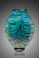 Canyon Vase by David Lindsay (Art Glass Vase)