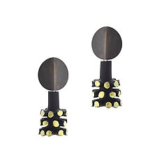 Turbine Dangle Earrings by Lindsay Locatelli (Jewelry Earrings)