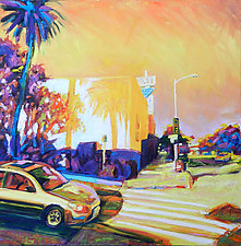 Corners II by Bonnie Lambert (Oil Painting)