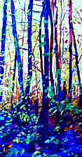 Golden Forest by Bonnie Lambert (Oil Painting)