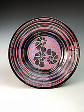 Stone Nautilus Pattern Plate by Thomas Harris (Ceramic Plate)