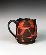 Still Life with Triangles Mug by Thomas Harris (Ceramic Mug)