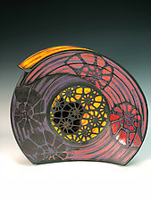 Large Nautilus Bowl by Thomas Harris (Ceramic Bowl)