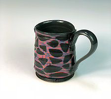 Stone Patterned Mug by Thomas Harris (Ceramic Mug)