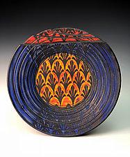 Plate with Fleurs de Lis by Thomas Harris (Ceramic Platter)