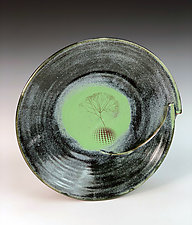 fibonnaci bowl by Thomas Harris (Ceramic Bowl)