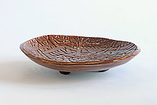 Coconut Dish II by Emil Yanos (Ceramic Platter)