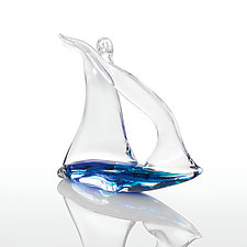 Regatta by Michael Magyar (Art Glass Ornament)