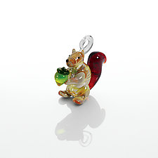Nuts About You by Kevin McKay, Maki Kawakubo and Kirsten Loewen (Art Glass Ornament)