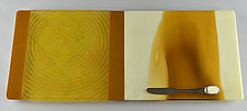 Sun Kissed by Terry Gomien (Art Glass Tray)