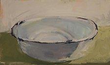 Wash Basin by Cynthia Eddings (Oil Painting)