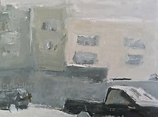 Meeting Mary by Cynthia Eddings (Oil Painting)