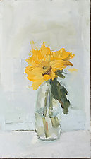 Sunflowers by Cynthia Eddings (Oil Painting)