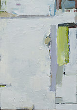Bus Abstract by Cynthia Eddings (Oil Painting)