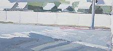 Bayside Hotel by Cynthia Eddings (Oil Painting)