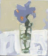 Iris 2 by Cynthia Eddings (Oil Painting)