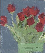 Megan's Grace by Cynthia Eddings (Oil Painting)