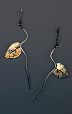 Autumn Memory Earrings by Marcia Meyers (Silver Earrings)