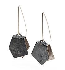 Borsa Earrings by Jane Pellicciotto (Silver Earrings)