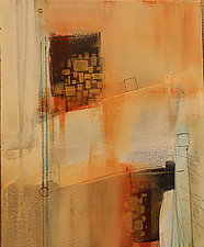 Desert Colors II by Nicholas Foschi (Acrylic Painting)