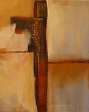 Golden Cliffs V by Nicholas Foschi (Acrylic Painting)