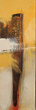 Golden Cliffs IV by Nicholas Foschi (Acrylic Painting)