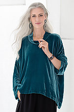 Juliet Velvet Top by Bodil Knighton  (Woven Top)