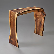 Acadia Console Table by Jesse Shaw (Wood Console Table)