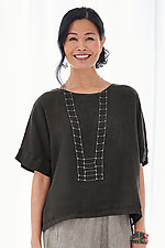 Roma Top by Lisa Bayne  (Linen Top)