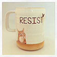 Resist! by Chris Hudson and Shelly  Hail (Ceramic Mug)
