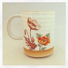 Poppie Love Mug by Chris Hudson and Shelly  Hail (Ceramic Mug)