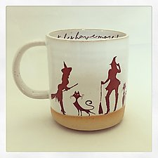 Witches Have More Fun Mug by Chris Hudson and Shelly  Hail (Ceramic Cups & Mugs)