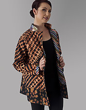 3/4 Length Jacket by Uosis Juodvalkis  and Jacquie Rice  (Cotton Jacket, M (10-12))